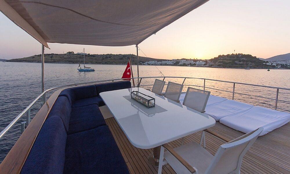 Rental Motor boat Riza Tansu with a permit