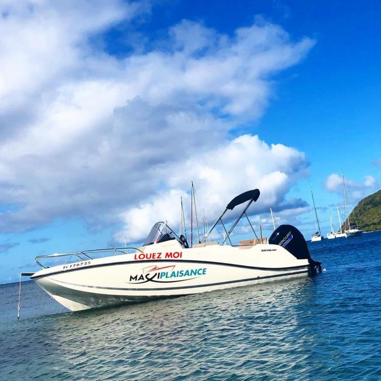 Rental Motor boat Quicksilver with a permit