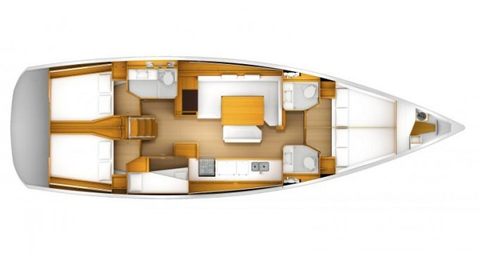 Jeanneau Sun Odyssey 519 between personal and professional Kos