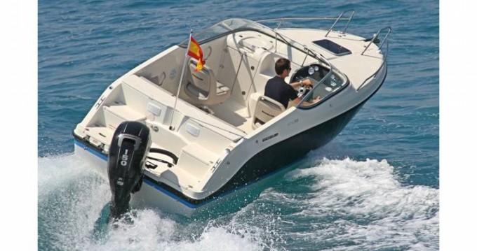 Rent a Quicksilver Activ 595 Cruiser Antibes