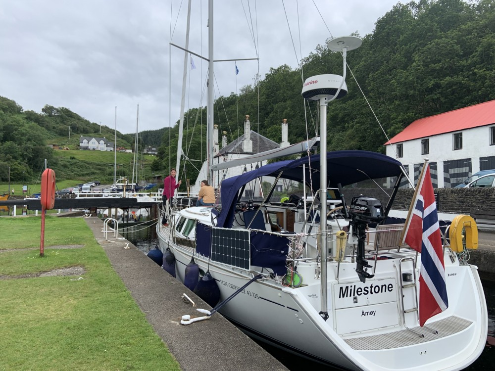 Jeanneau SO 43 DS between personal and professional Stavanger