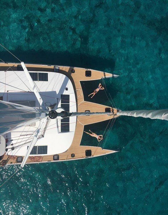 Hire Catamaran with or without skipper Neel Saint Lucia