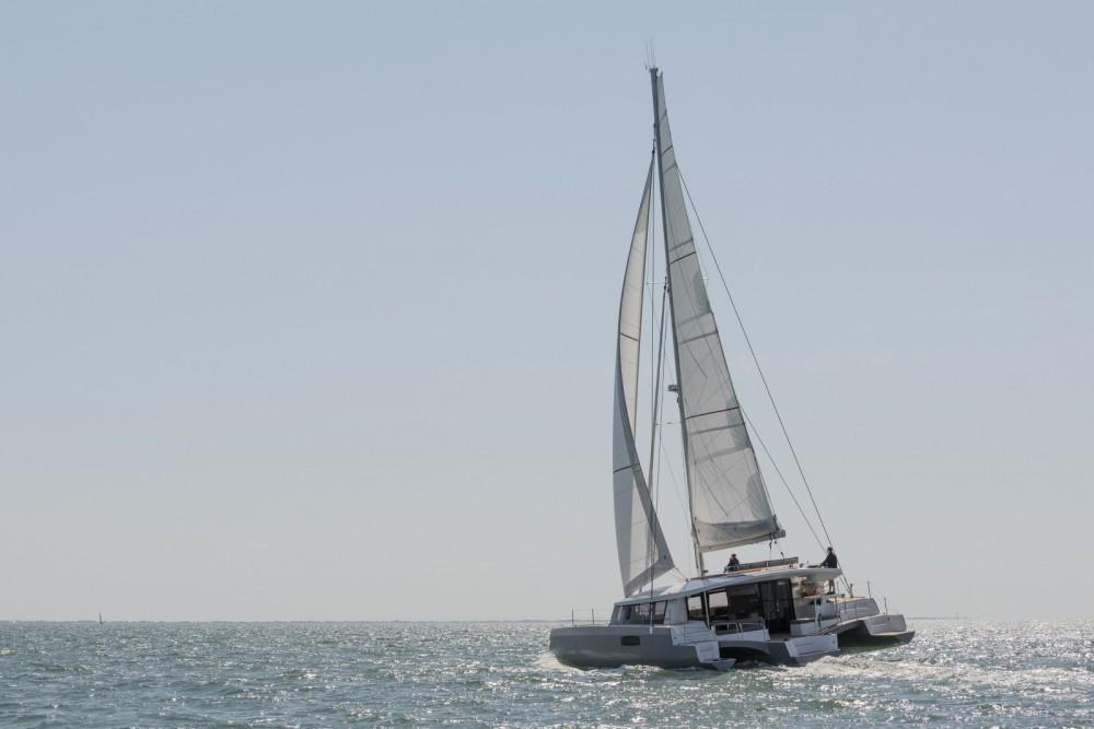 Rental Catamaran in Antigua and Barbuda - Neel Neel 51