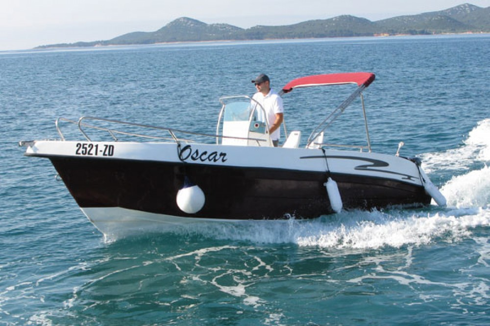 Boat rental Grad Biograd na Moru cheap Flyer 22 Open