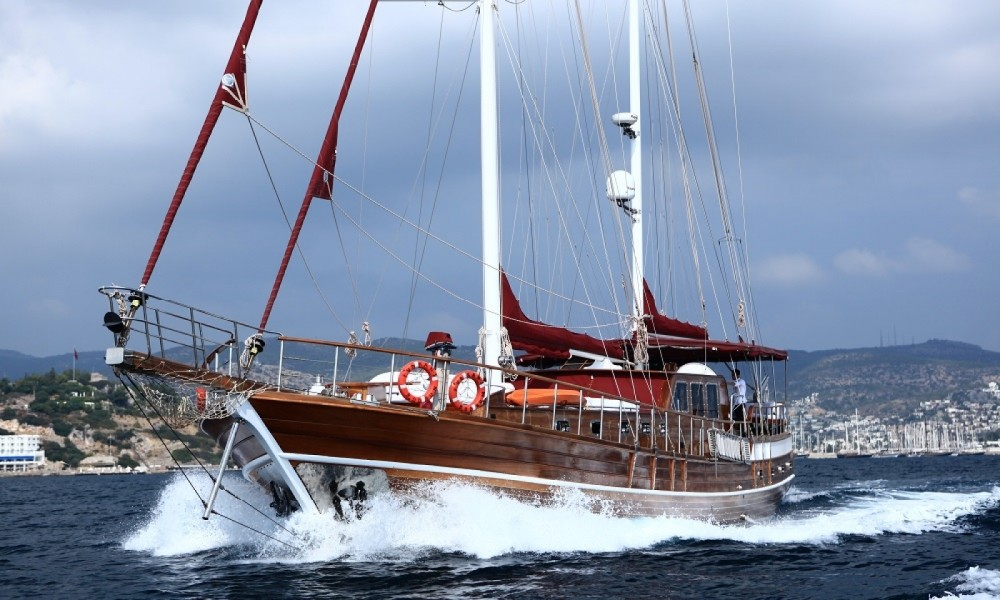 Rent a Custom Made Gulet Aegean Region
