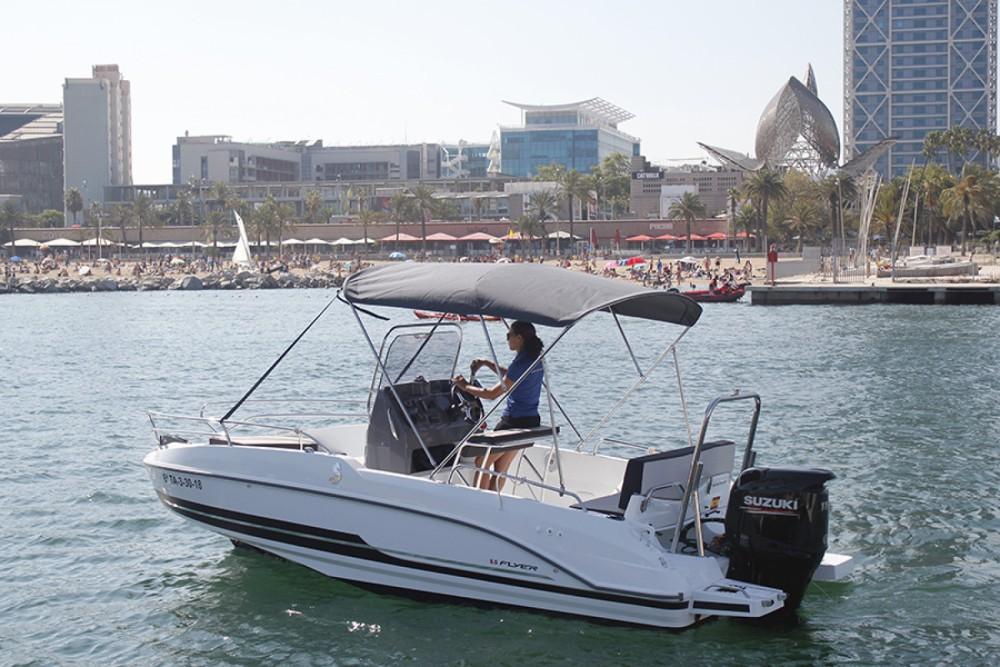 Boat rental Sant Carles de la Ràpita cheap Flyer 5.5 SPACEdeck