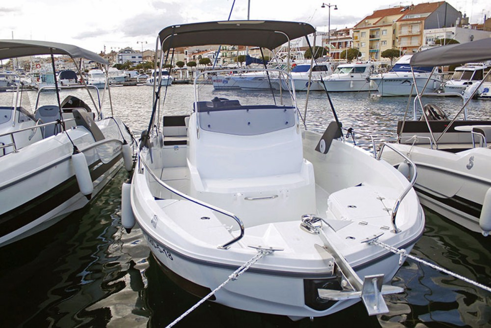 Boat rental Sant Carles de la Ràpita cheap Flyer 6.6 SPACEdeck