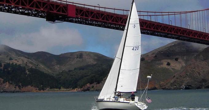Islander 36 between personal and professional San Francisco