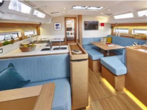 Jeanneau Sun Odyssey 490 between personal and professional Alimos