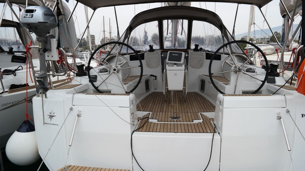 Jeanneau Sun Odyssey 449 between personal and professional Athens