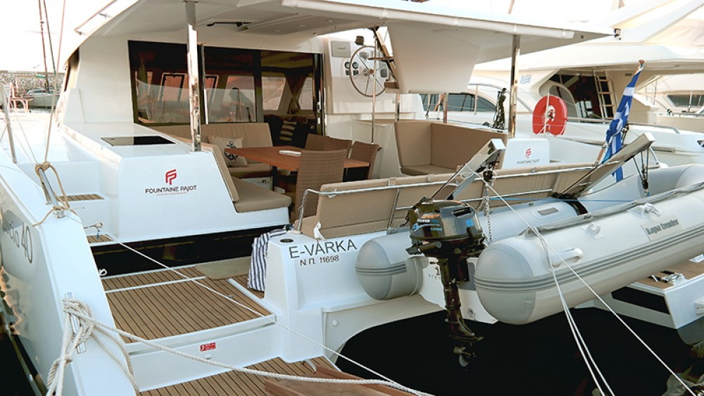Hire Catamaran with or without skipper Fountaine Pajot Greece