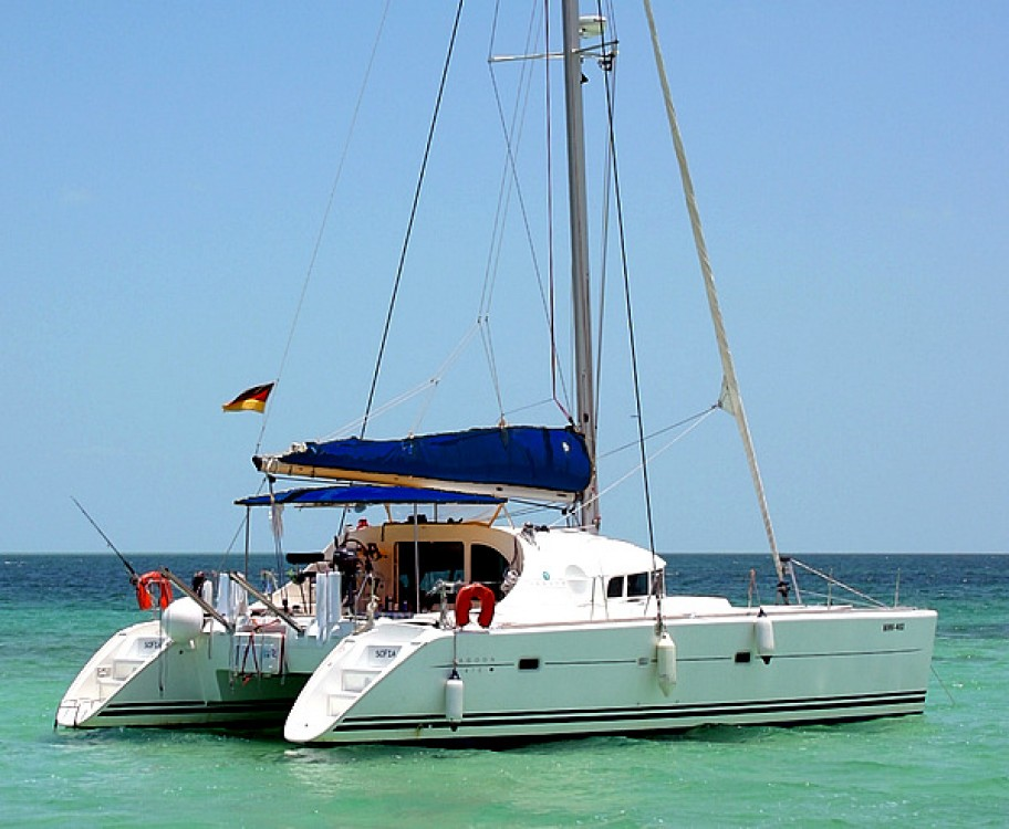 Catamaran for rent Cienfuegos at the best price