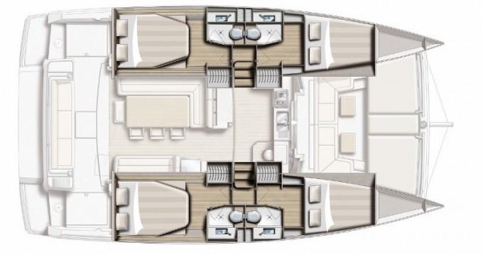 Rental yacht Gouvia - Bali Catamarans Bali 4.1 on SamBoat