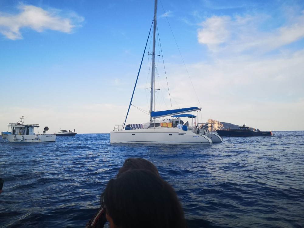 Rent a Fountaine Pajot Lavezzi 40 Cagliari