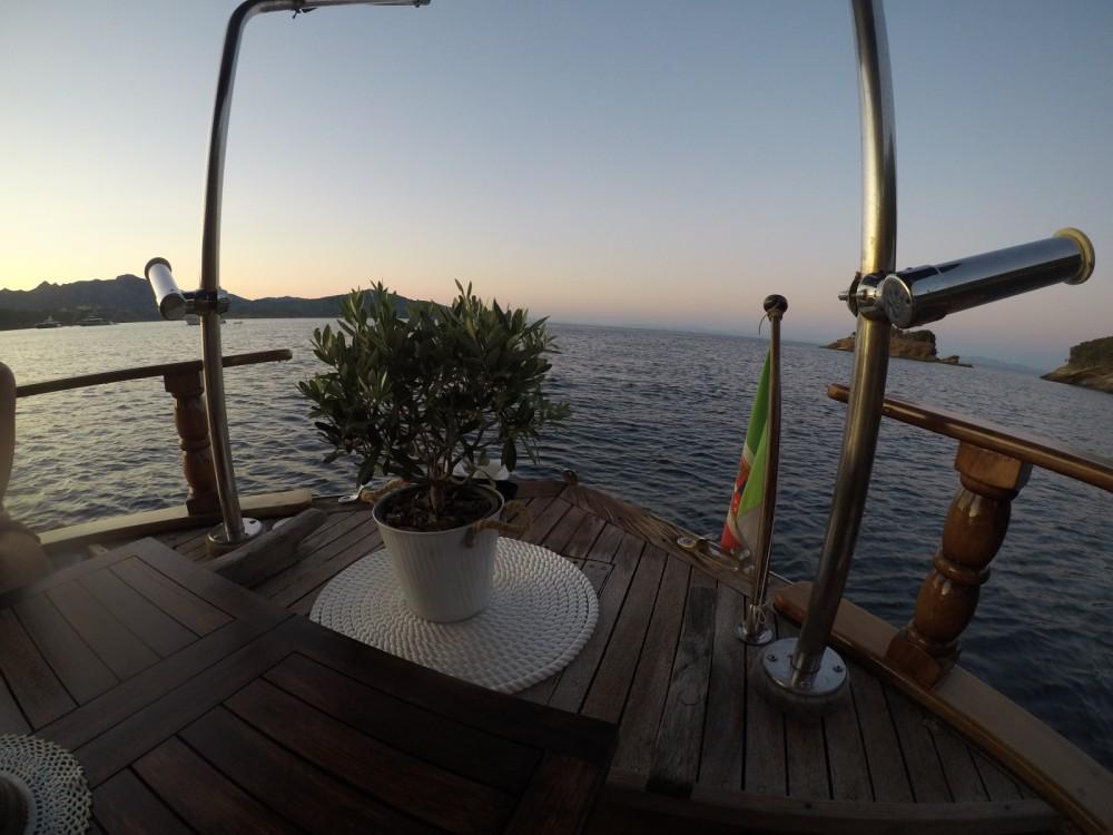 Rental yacht Porto Azzurro - Cantiere Lampedusa Gozzo cabinato legno on SamBoat