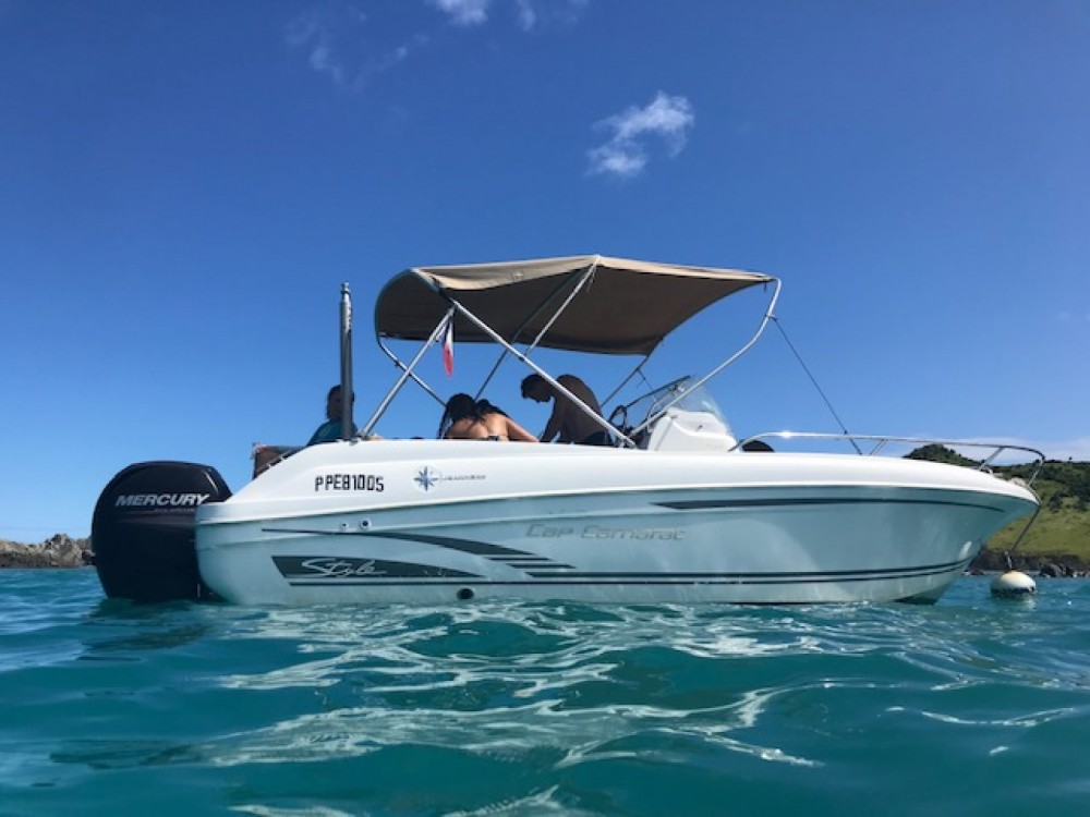Hire Motor boat with or without skipper Jeanneau Marigot