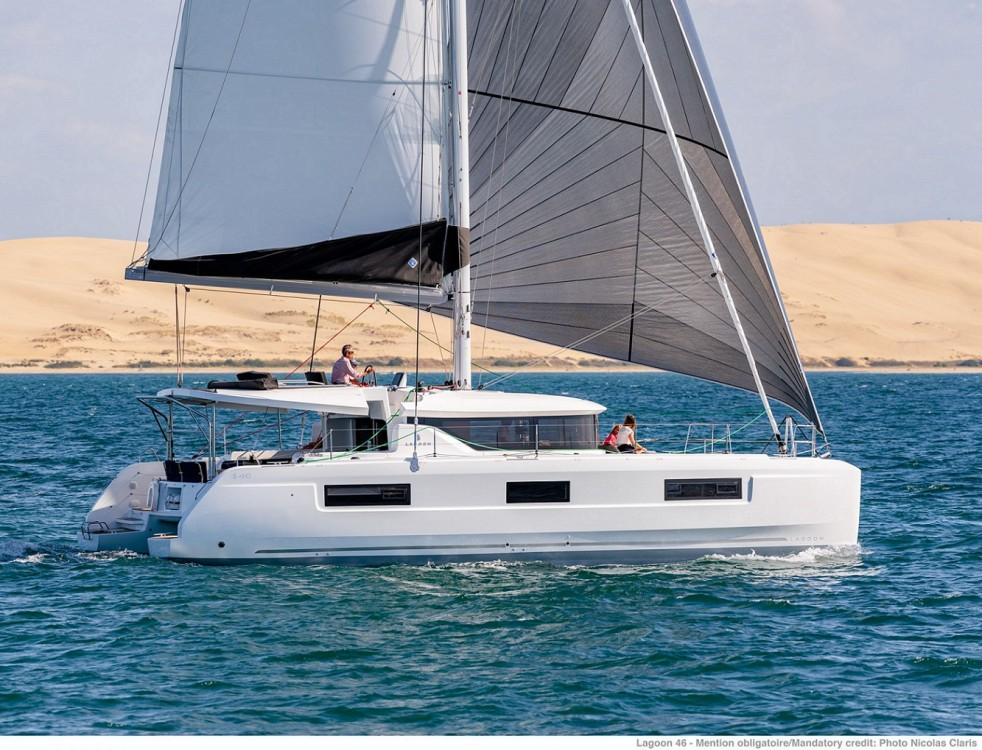 Rental yacht Seget Donji - Lagoon Lagoon 46 - 4 + 2 cab. on SamBoat