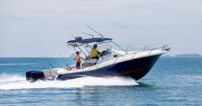 Rental Motorboat in Phuket - Jeanneau CAP CAMARAT