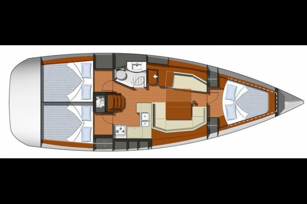 Boat rental Jeanneau Sun Odyssey 39i in Attica on Samboat