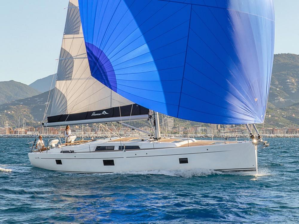 Boat rental Aegean cheap Hanse 508