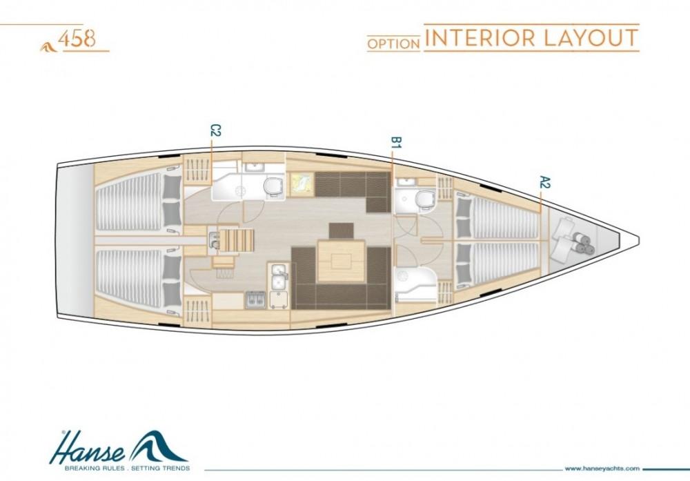 Rental yacht Volos Municipality -  Hanse 458 on SamBoat