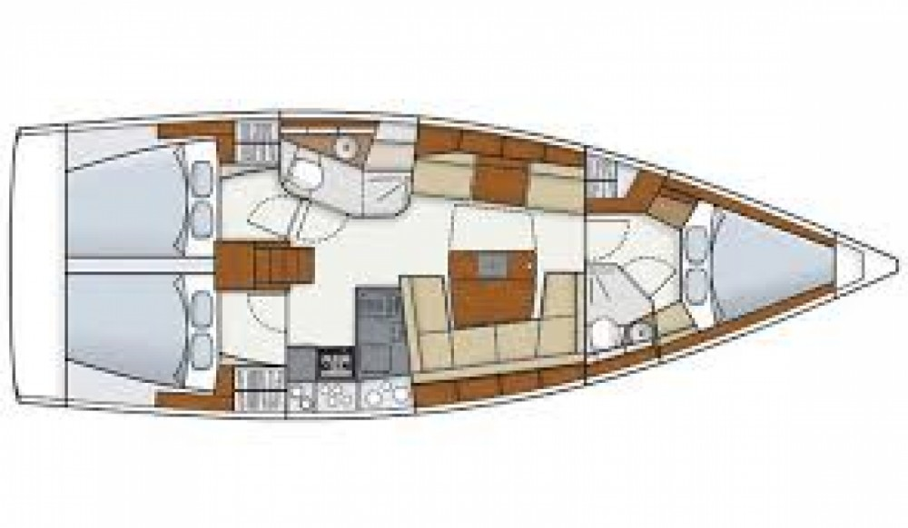 Sailboat for rent Cartagena at the best price