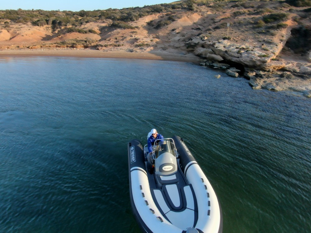 3D Tender Lux 500 between personal and professional Cartagena