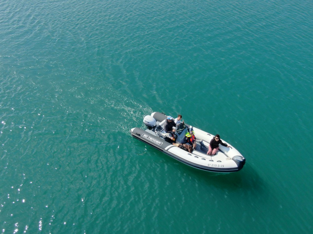 Hire RIB with or without skipper 3D Tender Cartagena