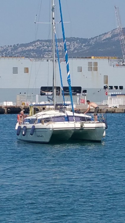 Rental Catamaran PROUT with a permit