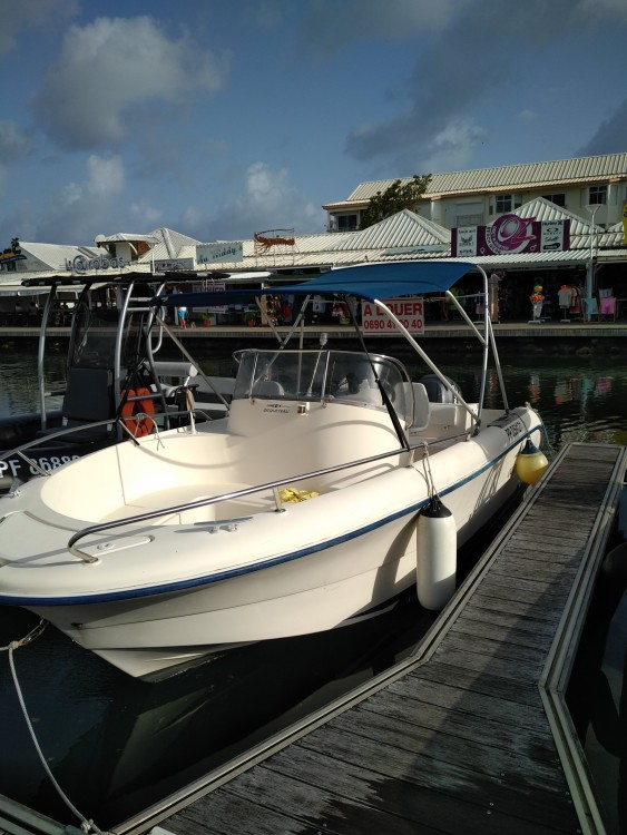 Rental Motor boat Ocqueteau with a permit