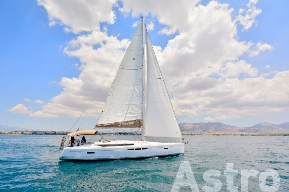 Rental Sailboat in Peloponnese, West Greece and Ionian Sea - Jeanneau Sun Odyssey 509