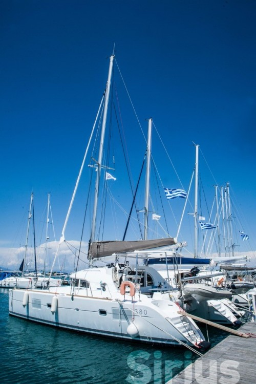 Rental Catamaran in Peloponnese, West Greece and Ionian Sea - Lagoon Lagoon 380
