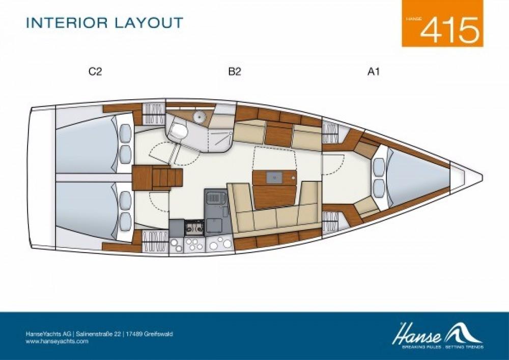 Boat rental Hanse Hanse 415 in  on Samboat