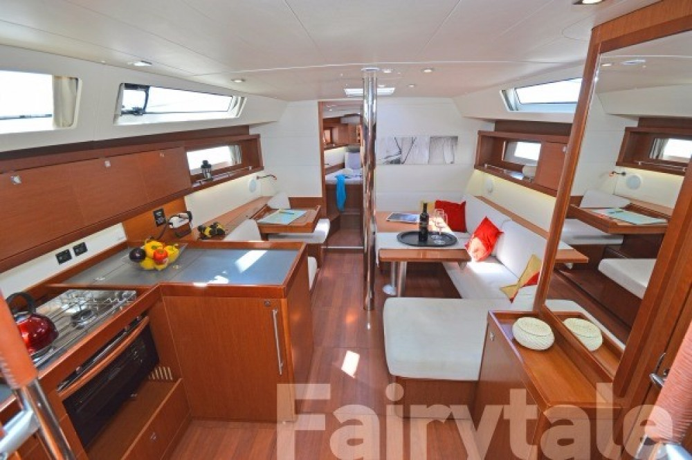 Boat rental  cheap Oceanis 41