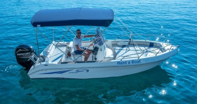 Rental Motorboat Saver with a permit