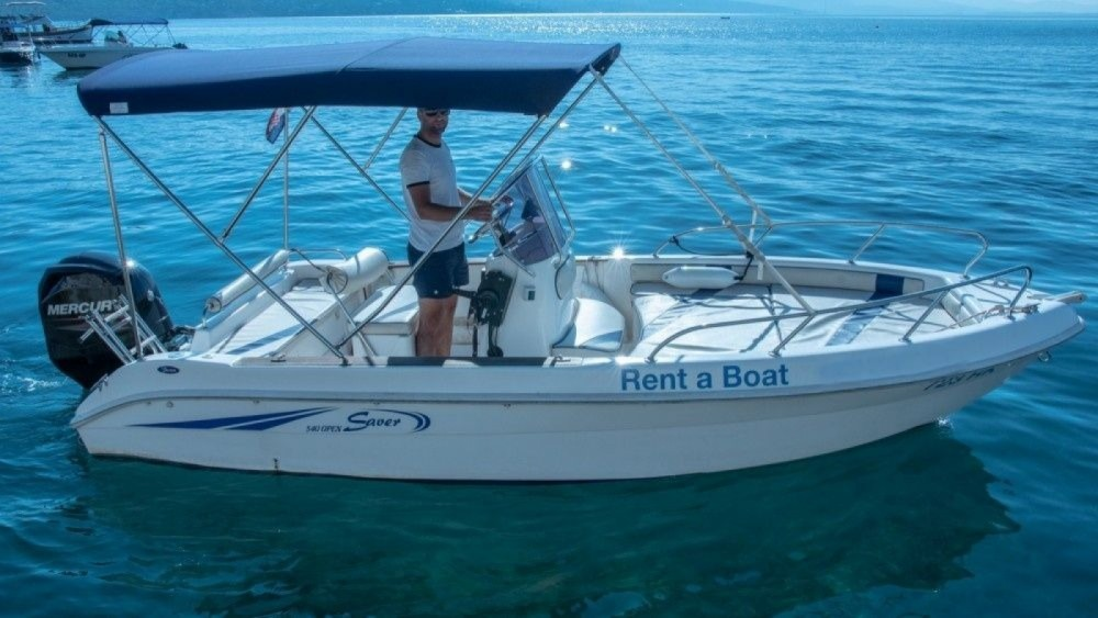 Hire Motorboat with or without skipper Saver Grad Rijeka