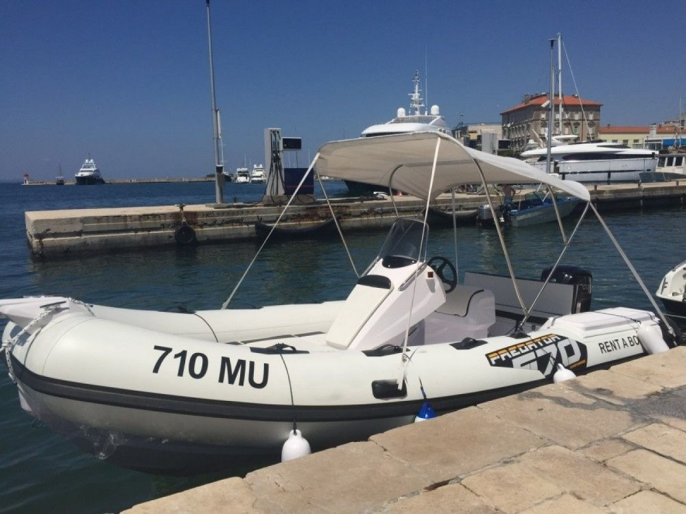 Hire RIB with or without skipper Italboats Grad Zadar