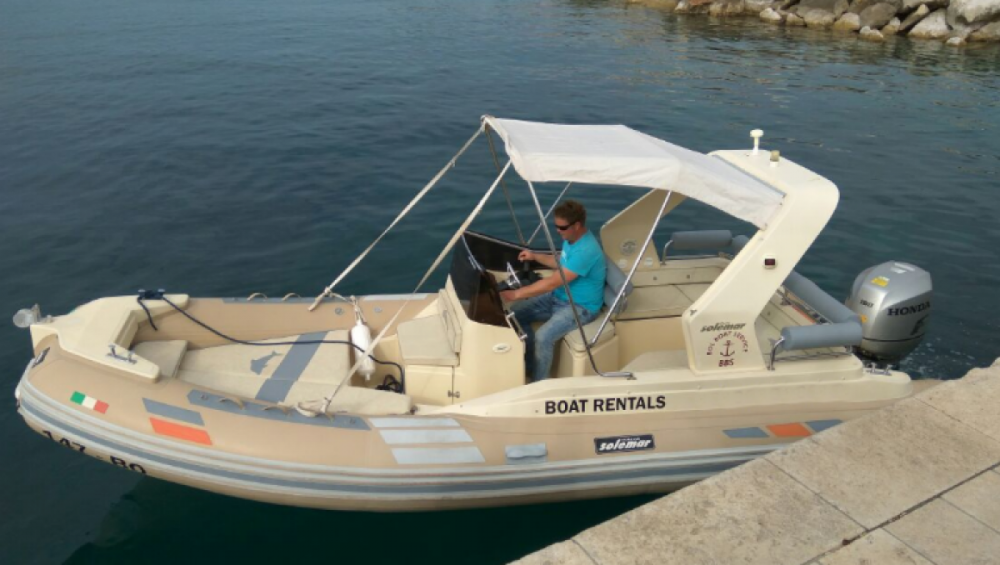 Solemar B 58 offshore between personal and professional Bol
