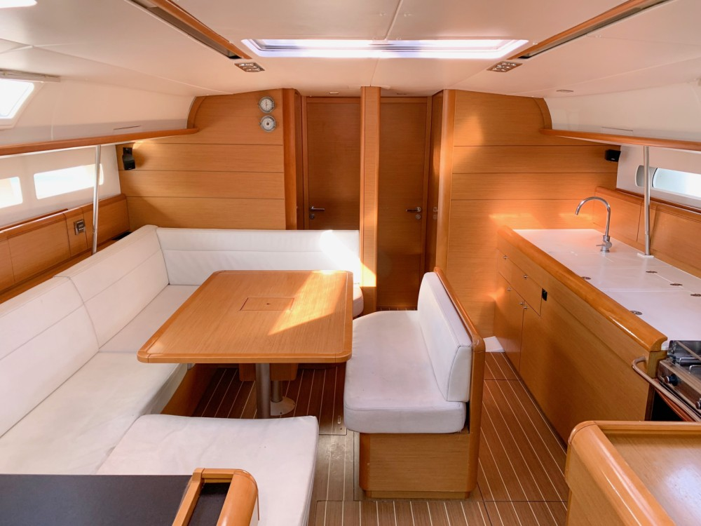 Jeanneau Sun Odyssey 509 between personal and professional Volos