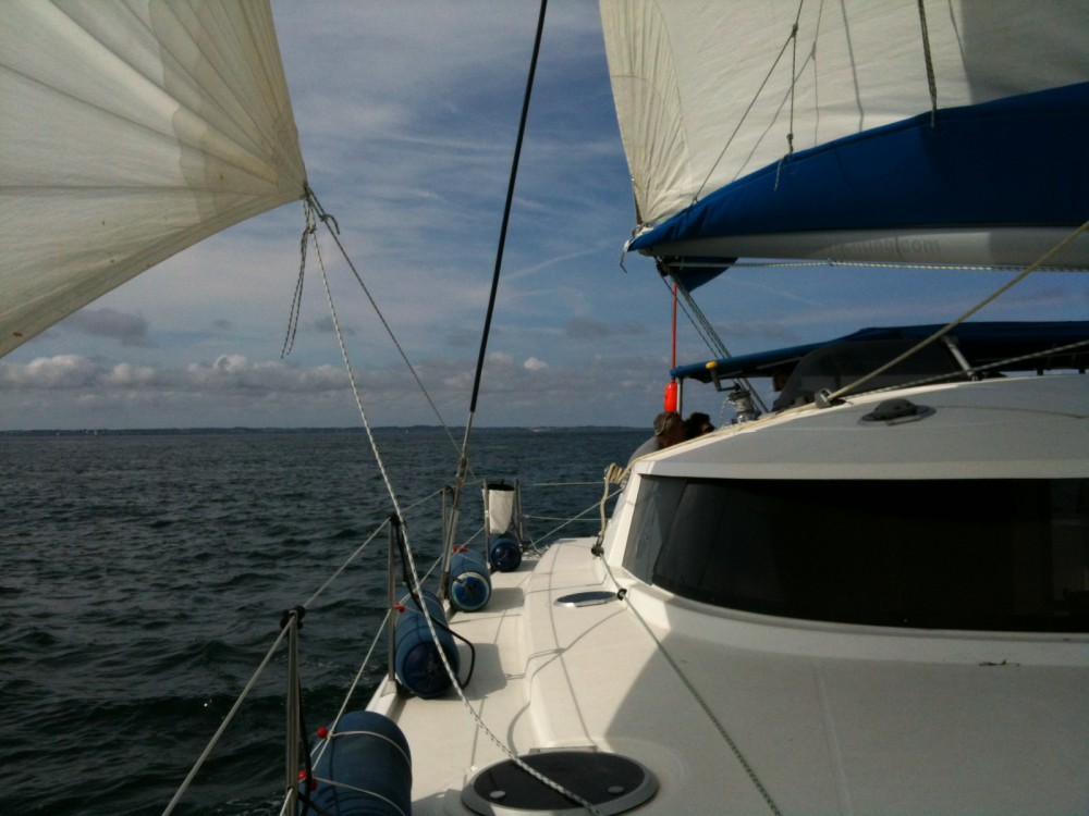 Rental yacht Lorient - Fountaine Pajot Belize 43 on SamBoat