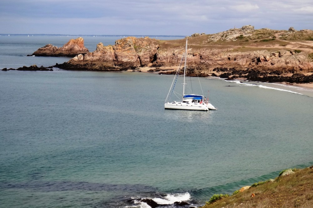 Fountaine Pajot Belize 43 between personal and professional Lorient
