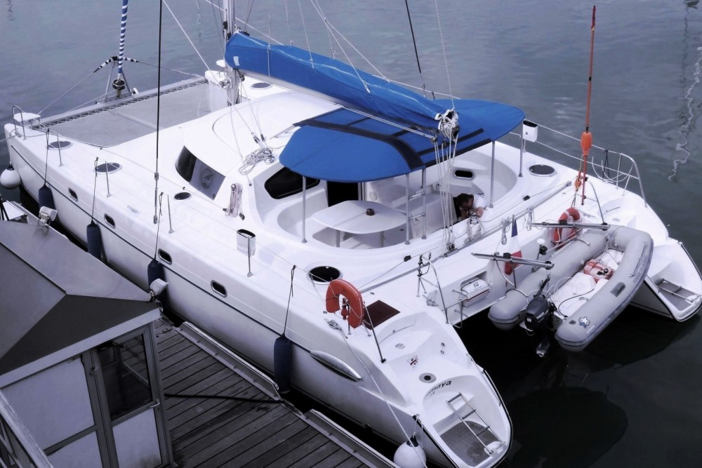 Rental Catamaran in Lorient - Fountaine Pajot Belize 43