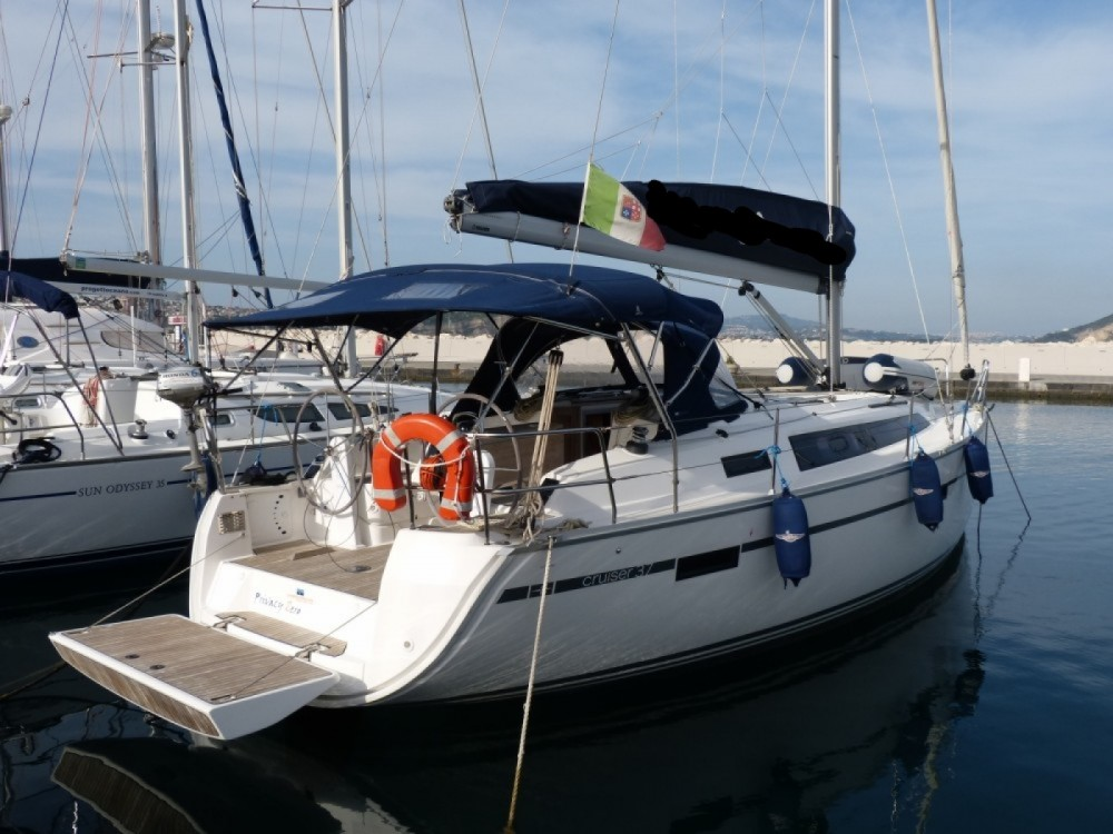 Rent a Bavaria Cruiser 37 Procida