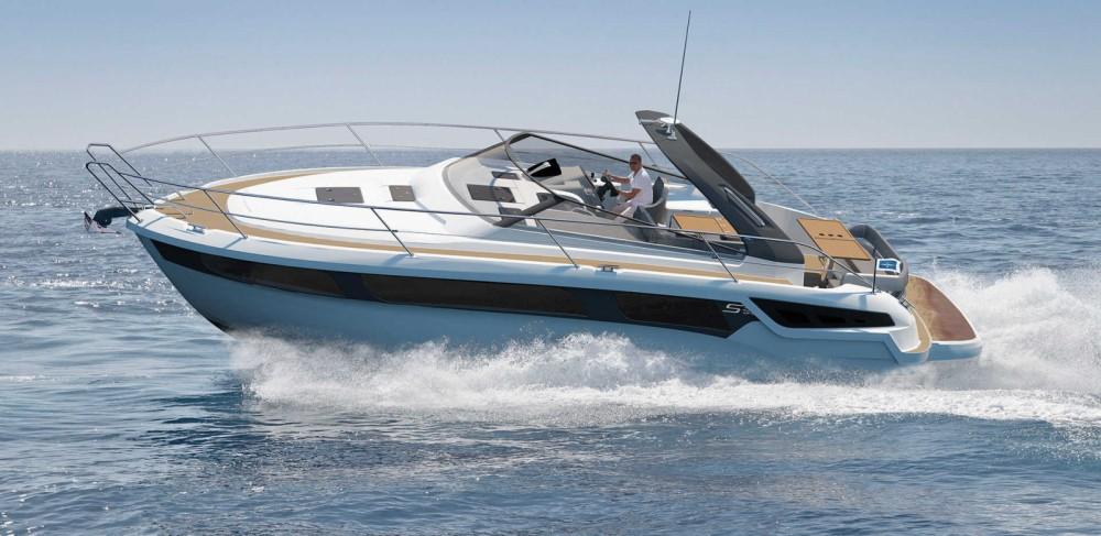 Boat rental Ibiza cheap Bavaria 360 Sport