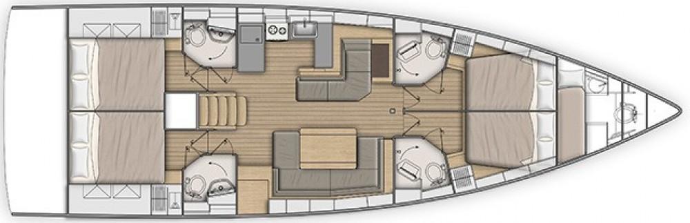 Rental Sailboat in Nafplio - Bénéteau Oceanis 51.1