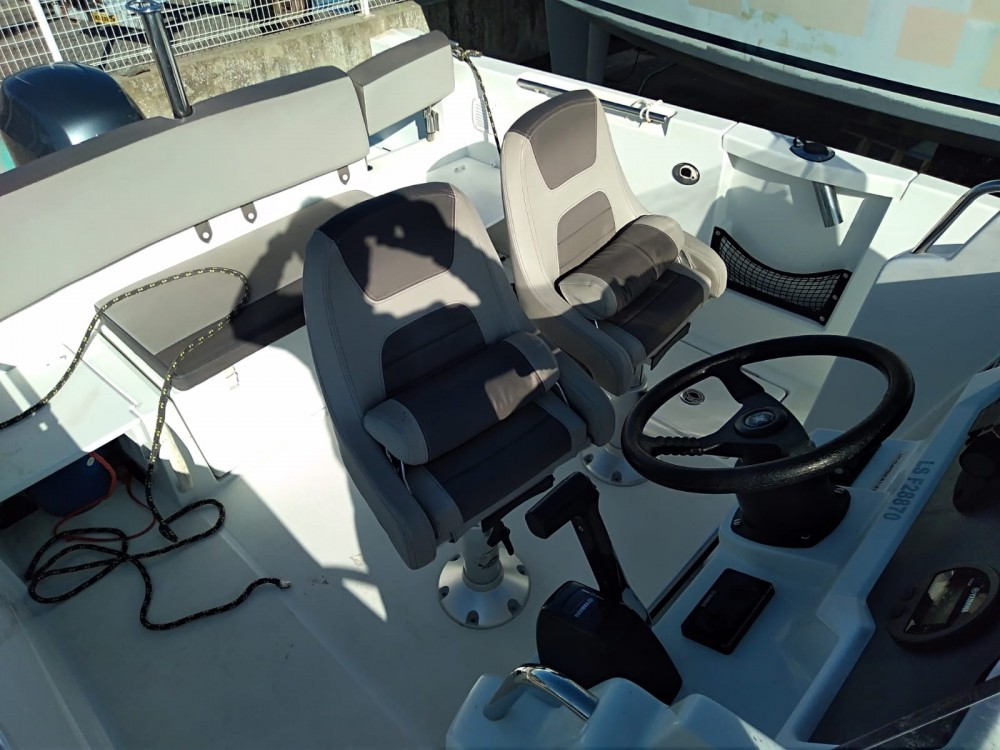 Boat rental es Mercadal cheap Cap Camarat 6.5 CC Style Serie 2