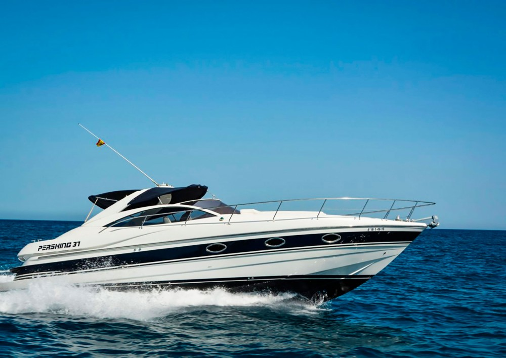 Hire Motorboat with or without skipper Pershing Positano