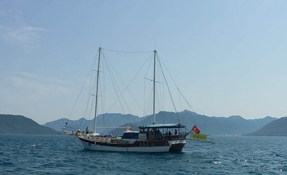 Hire Sailboat with or without skipper Wooden gulet Aegean Region
