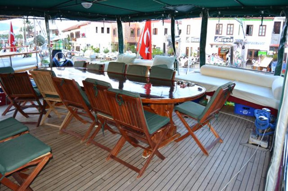 Wooden gulet Standard Gulets between personal and professional Muğla