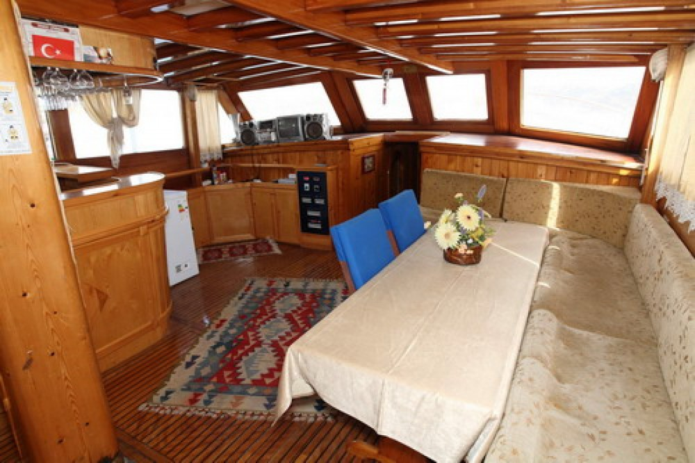 Rental Sailboat Wooden gulet with a permit